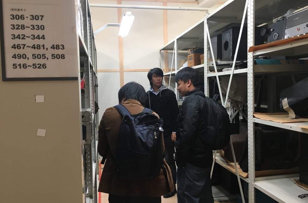 """A visit to National Film Archive of Japan for the digital restoration of """"The Daughter of Japan"""