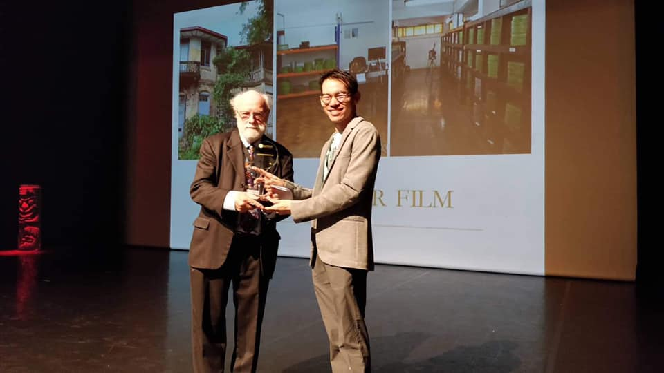 Save Myanmar Film as the Best Archival Project in the Region Award